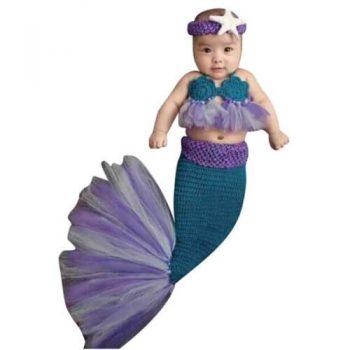disfraz sirena bebe