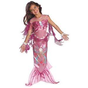Disfraz de Sirena para niña rosa