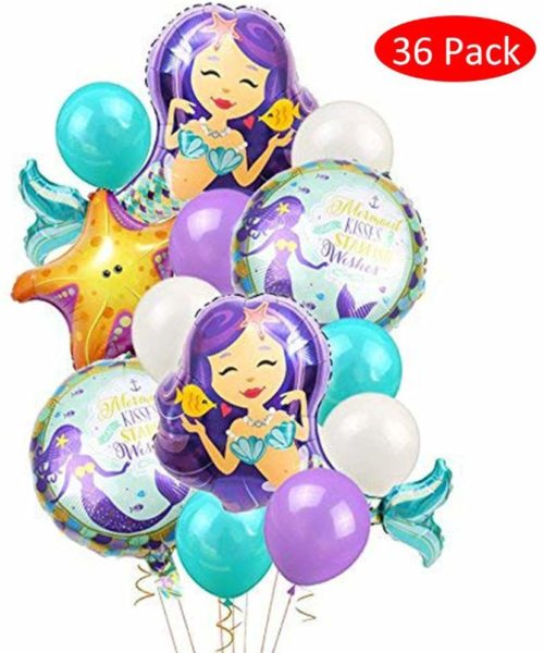 globos fiesta sirenas